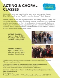 New Choral Class