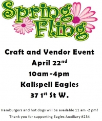Spring Fling Craft and Vendor Event