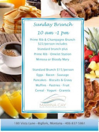 Sunday Brunch @ Marina Cay