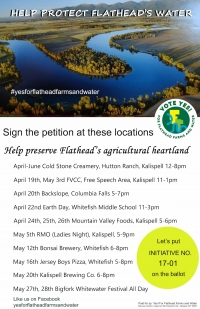 Yes! For Flathead Farms and Water: Petition Drive