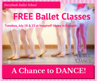 A Chance to Dance! Free Storybook Ballet Classes