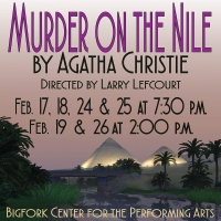 Murder on the Nile by Agatha Christie