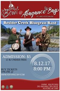 Boulder Creek Bluegrass Band @ The Bowl