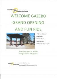 Welcome Gazebo Grand Opening & Fun Ride