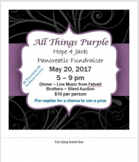 Hope for Jackson Dinner, Music and Silent Auction