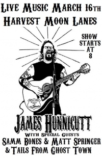 James Hannicutt live @ Harvest Moon Lanes