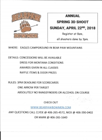 Spring Archery Shoot