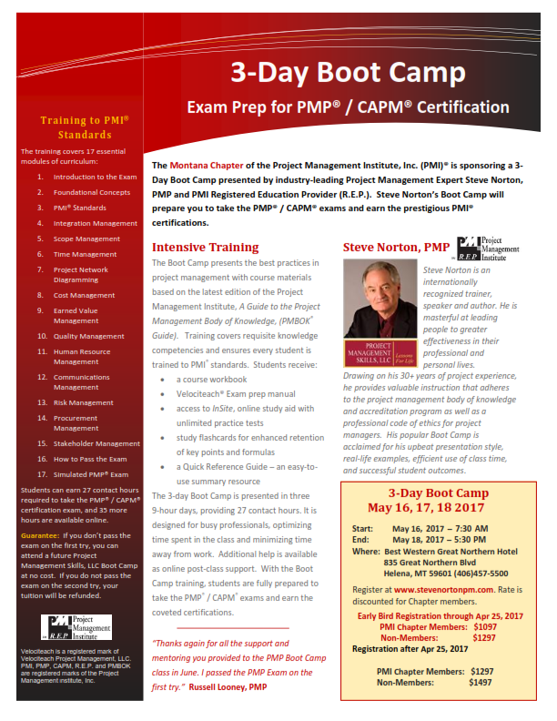 pmp project management boot exam pdf