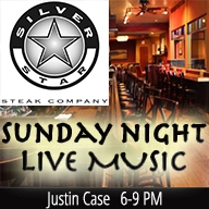 Sunday Night Live Music with Justin Case