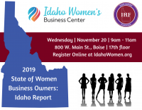 2019 State of the Women Business Owners: Idaho Report