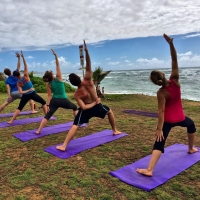 Free Sunset Yoga by the Sea