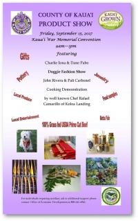 Kauai Made & Grown Wholesale Trade Show