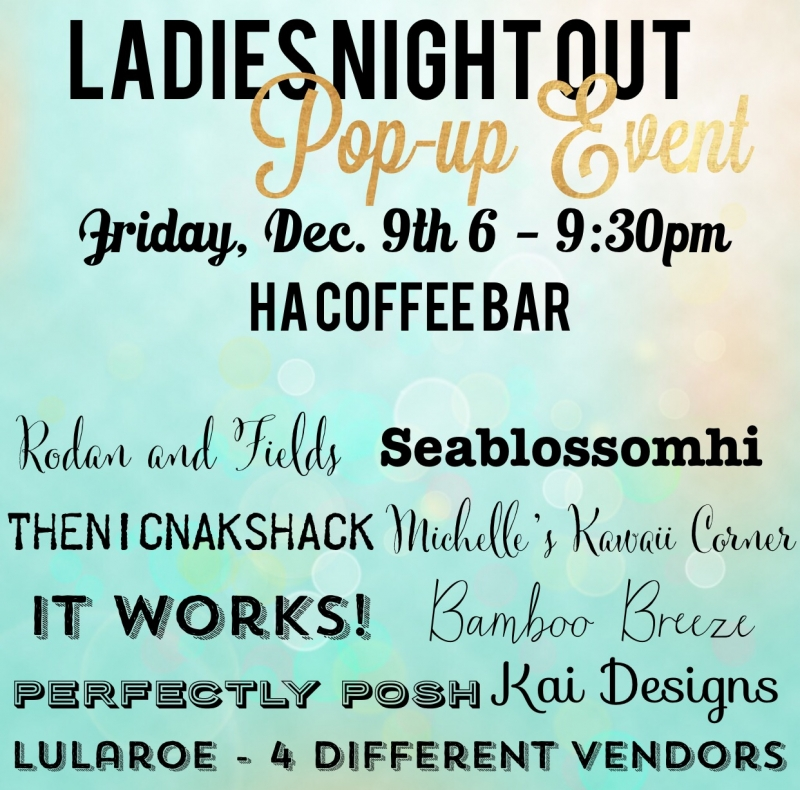 Ladies Night Out Pop Up Event