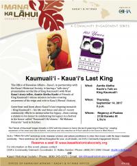 Kaumualii - Kauaii's Last King