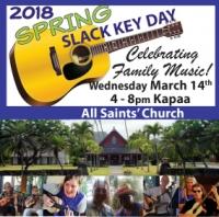 Spring Slack Key Day Festival