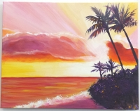Acrylics Painting Class