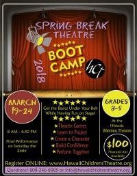 Spring Break Theatre Boot Camp