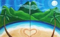 Valentine's Paint & Sip Event with Paradise Palette!