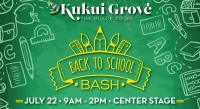 3rd Annual Back to School Bash and Supplies Giveaway