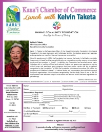 Lunch w/ Kelvin Taketa