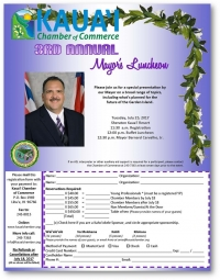 3rd Annual Mayor's Luncheon
