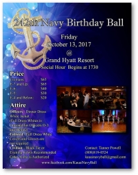 242nd Navy Birthday Ball