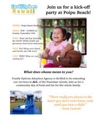 Family Options Hawaii Kickoff Party