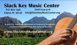 Slack Key Music Center