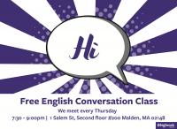 English Conversation Class