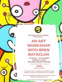 An Art Workshop With Bren Bataclan