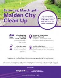 Malden City Clean Up