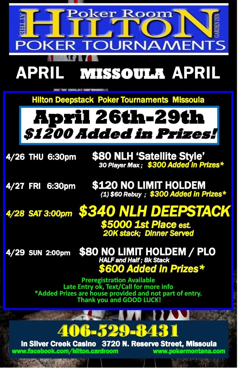 Hilton poker room missoula casino game free slot machine
