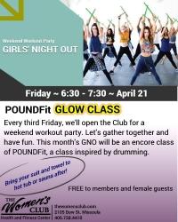Girls' Night Out - PoundFit Glow Class