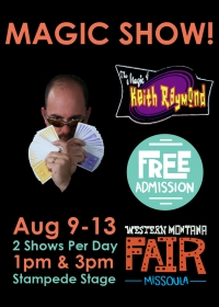 Keith Raymond Magic Show