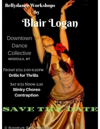 Bellydance Workshop: Drill for Thrills