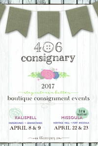 406 Consignary Children's Boutique Consignment Event
