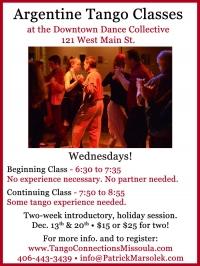 Beginning Argentine Tango Class