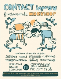 Contact Improv Fundamentals Workshop