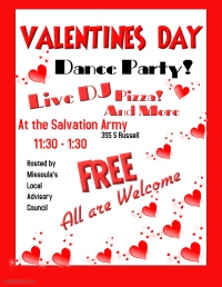 Valentine Day Dance Party