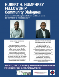 Humphrey Fellowship Community Dialogues Series