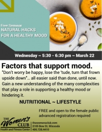 Natural Hacks to Support a Healthy Mood
