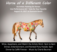 Horse of a Different Color celebrate horses through art