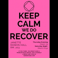 Narcotics Anonymous Meeting