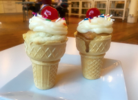 Ice Cream Cone Cupcake Workshop (Ages 2-6)