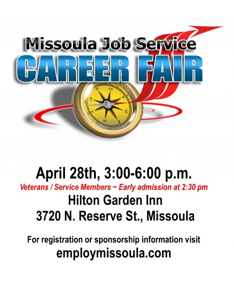 Missoula Job Service Career Fair
