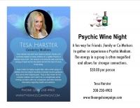 Psychic Wine Night with Celebrity Medium Tesa Harster