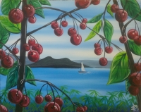 Painting: Flathead Cherries