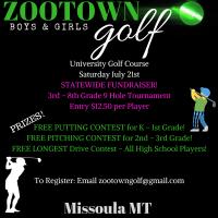 Youth Golf Fundraiser!