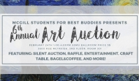 mcgill best buddies charity art auction