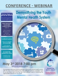 WEBINAR: Demystifying the Youth Mental Health System